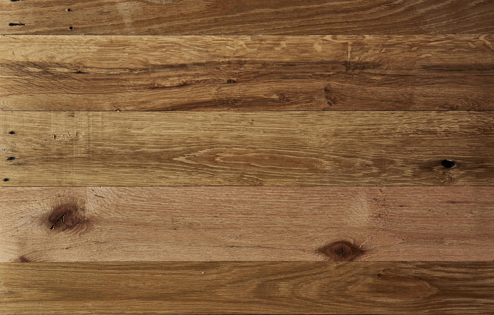 Oak cargo flooring