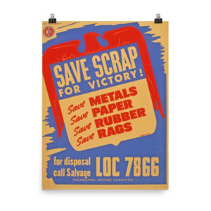 SAVE SCRAP FOR VICTORY4