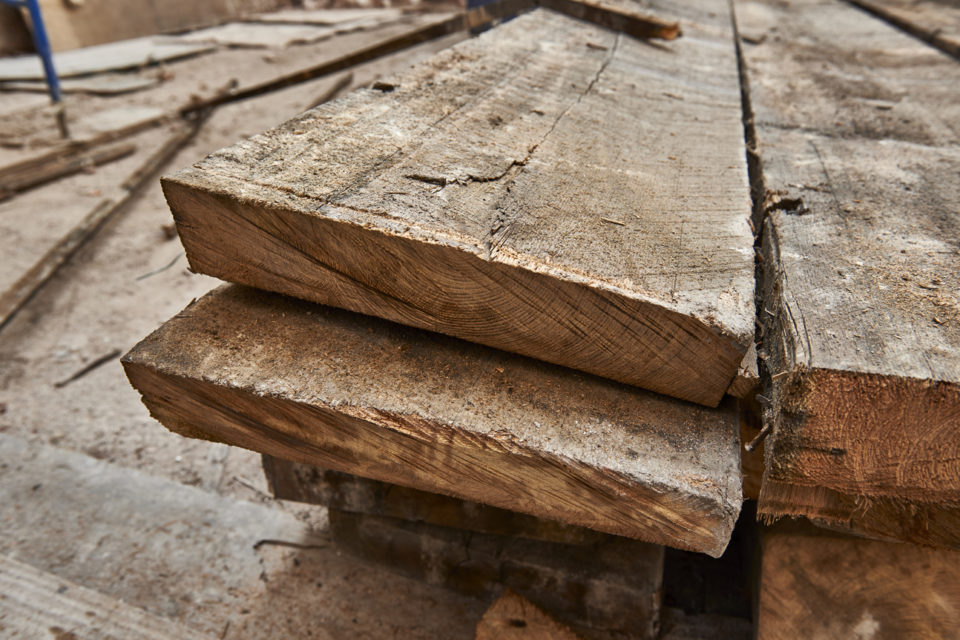 lumber and beams